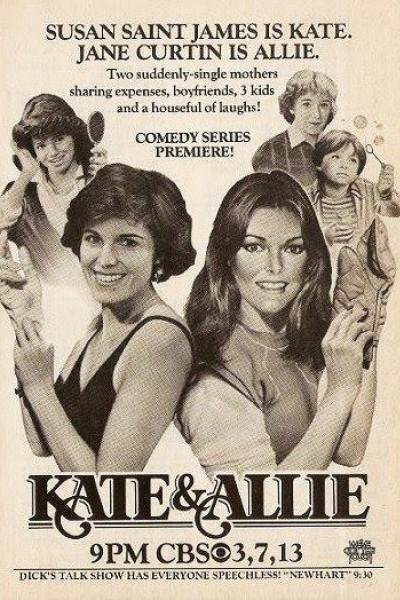 Caratula, cartel, poster o portada de Kate y Allie