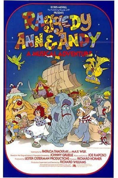 Caratula, cartel, poster o portada de Raggedy Ann & Andy: A Musical Adventure