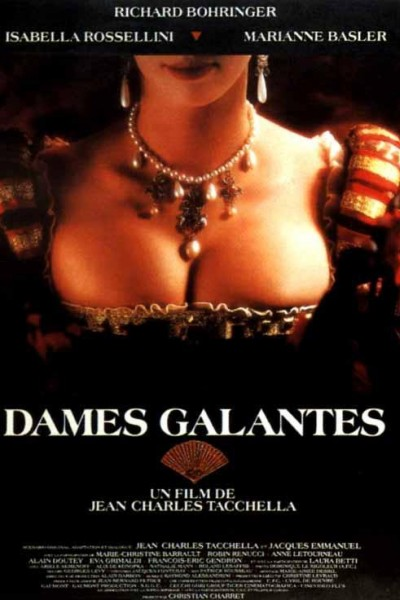 Caratula, cartel, poster o portada de Las damas galantes