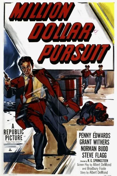 Caratula, cartel, poster o portada de Million Dollar Pursuit