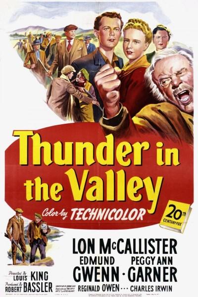 Caratula, cartel, poster o portada de Thunder in the Valley
