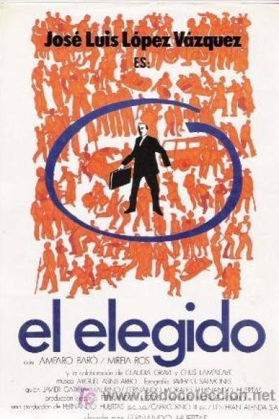 Caratula, cartel, poster o portada de El elegido