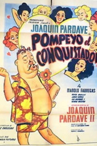 Caratula, cartel, poster o portada de Pompeyo el conquistador