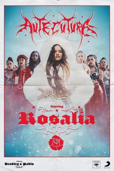 Caratula, cartel, poster o portada de Rosalía: Aute cuture (Vídeo musical)
