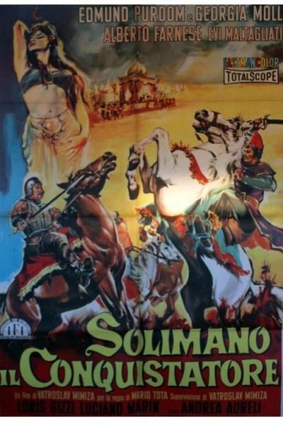 Caratula, cartel, poster o portada de Solimán el conquistador