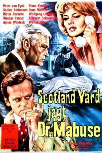 Caratula, cartel, poster o portada de Dr. Mabuse vs. Scotland Yard