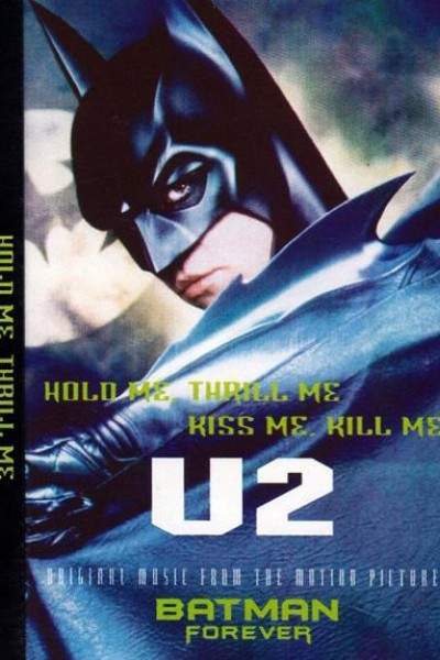 Caratula, cartel, poster o portada de U2: Hold Me, Thrill Me, Kiss Me, Kill Me (Vídeo musical)