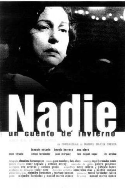 Caratula, cartel, poster o portada de Nadie (Un cuento de invierno)