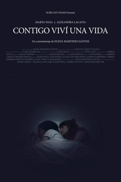 Caratula, cartel, poster o portada de Contigo viví una vida