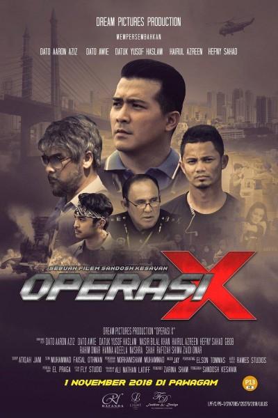 Caratula, cartel, poster o portada de Operation X