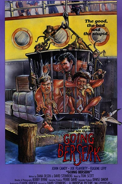 Caratula, cartel, poster o portada de Going Berserk