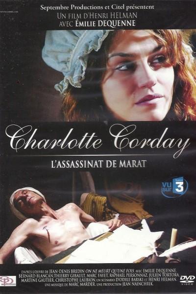 Caratula, cartel, poster o portada de Charlotte Corday: L\'assassinat de Marat