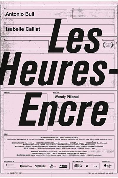Caratula, cartel, poster o portada de Les Heures-Encre