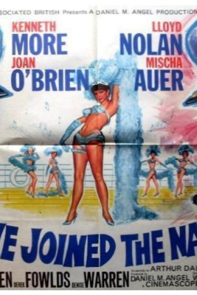 Caratula, cartel, poster o portada de Tres novatos en la armada