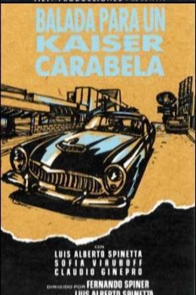 Caratula, cartel, poster o portada de Balada para un Kaiser Carabela