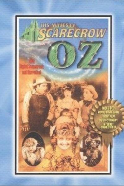 Caratula, cartel, poster o portada de His Majesty, the Scarecrow of Oz