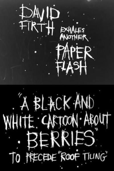 Caratula, cartel, poster o portada de A Black and White Cartoon About Berries
