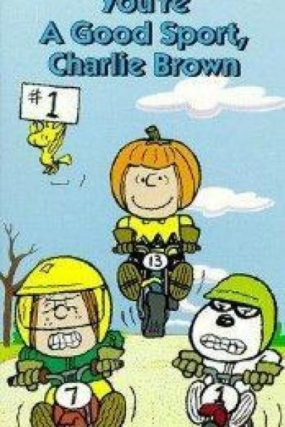 Caratula, cartel, poster o portada de Eres un buen deportista, Charlie Brown