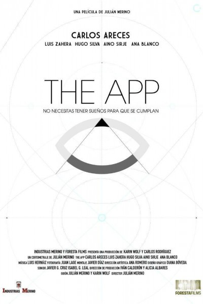 Caratula, cartel, poster o portada de The app