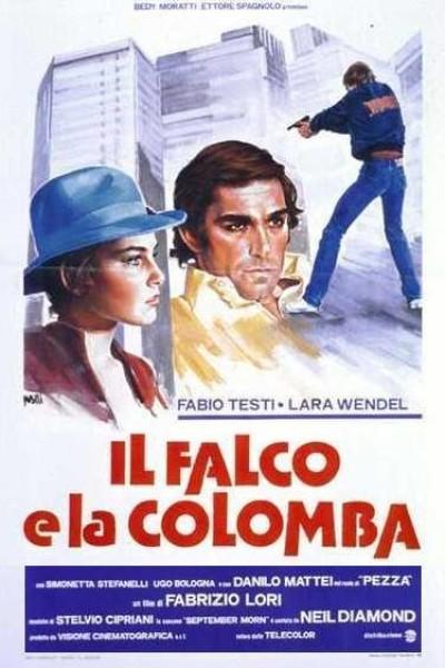 Caratula, cartel, poster o portada de El halcón y la paloma