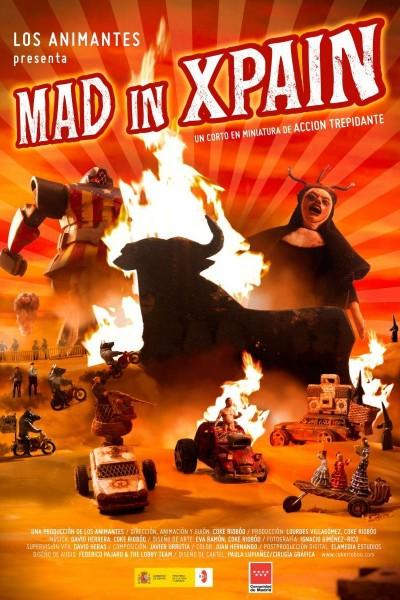 Caratula, cartel, poster o portada de Mad in xpain