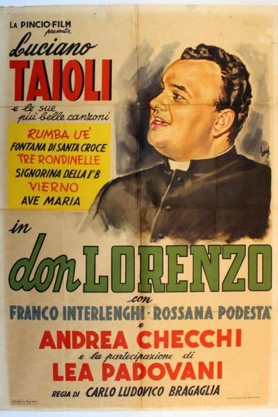 Caratula, cartel, poster o portada de Don Lorenzo