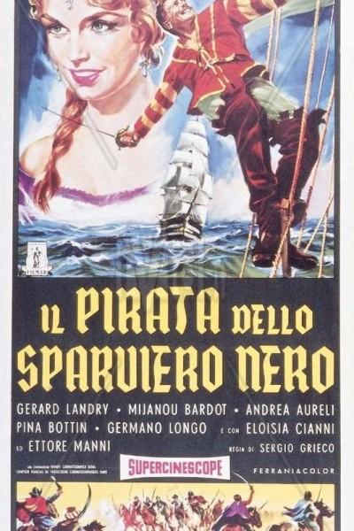 Caratula, cartel, poster o portada de El gavilán negro