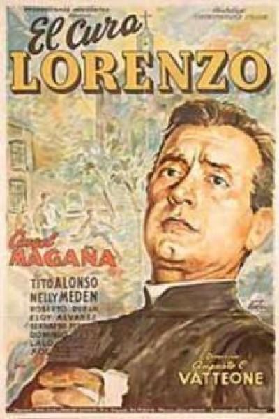 Caratula, cartel, poster o portada de El cura Lorenzo