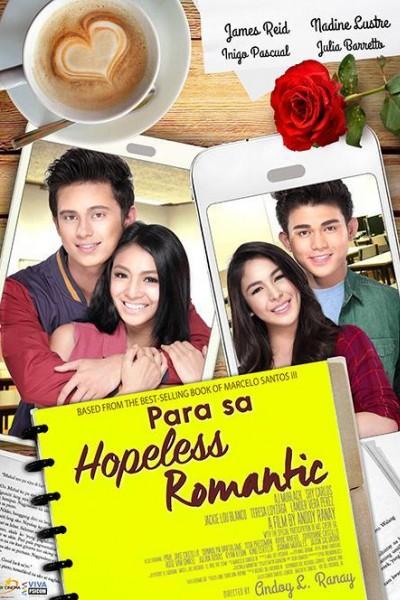 Caratula, cartel, poster o portada de Para sa hopeless romantic