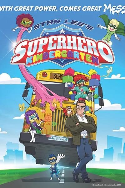 Caratula, cartel, poster o portada de Superhero Kindergarten