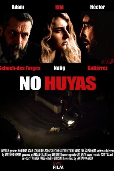 Caratula, cartel, poster o portada de No Huyas (Don\'t run away)