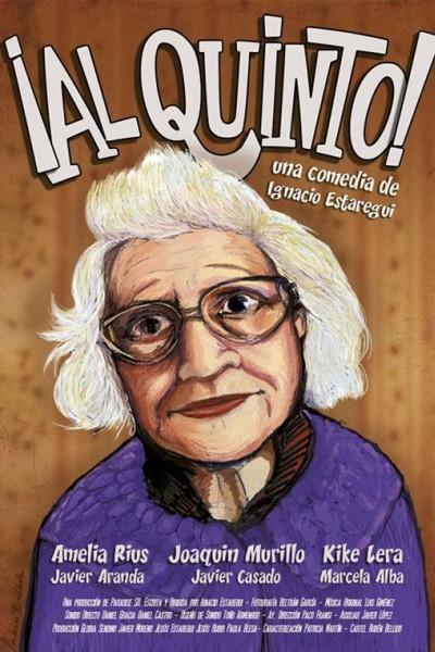 Caratula, cartel, poster o portada de ¡Al quinto!