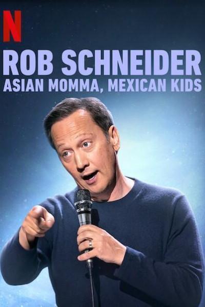 Caratula, cartel, poster o portada de Rob Schneider: Asian Momma, Mexican Kids