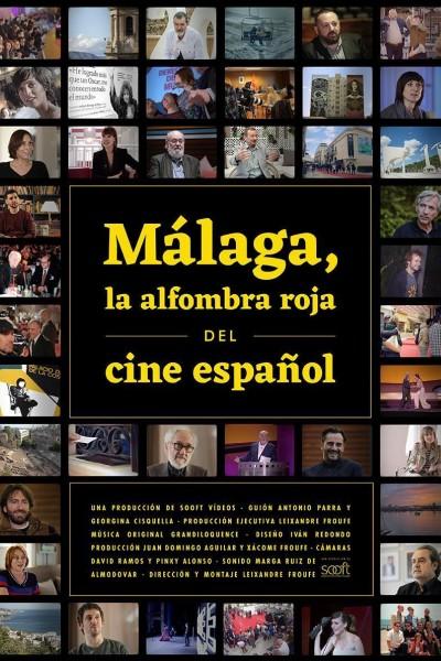 Caratula, cartel, poster o portada de Málaga, la alfombra roja del cine español