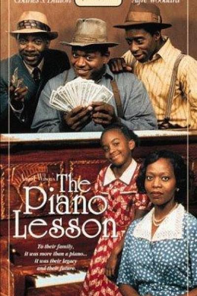 Caratula, cartel, poster o portada de La lección de piano