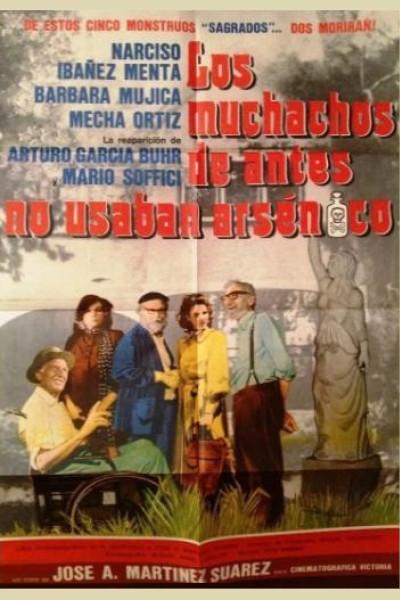 Caratula, cartel, poster o portada de Los muchachos de antes no usaban arsénico