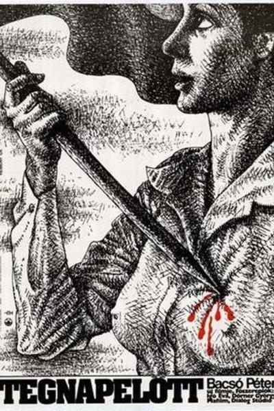 Caratula, cartel, poster o portada de Tegnapelött