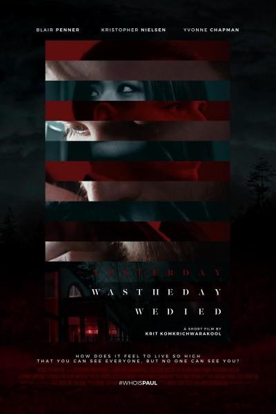 Caratula, cartel, poster o portada de Yesterday Was the Day We Died