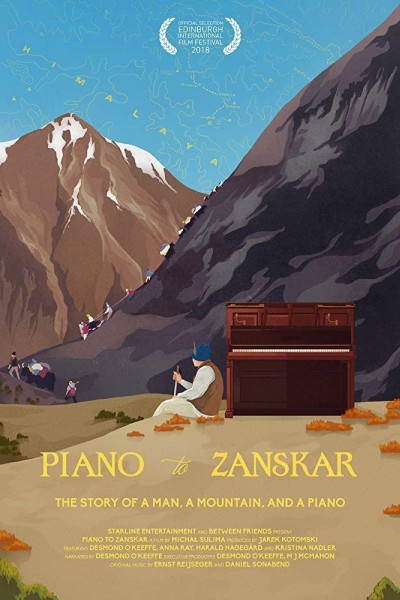 Caratula, cartel, poster o portada de Piano to Zanskar