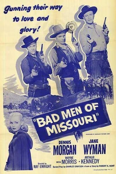 Caratula, cartel, poster o portada de Bad Men of Missouri
