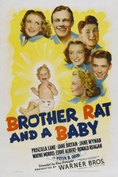 Caratula, cartel, poster o portada de Brother Rat and a Baby