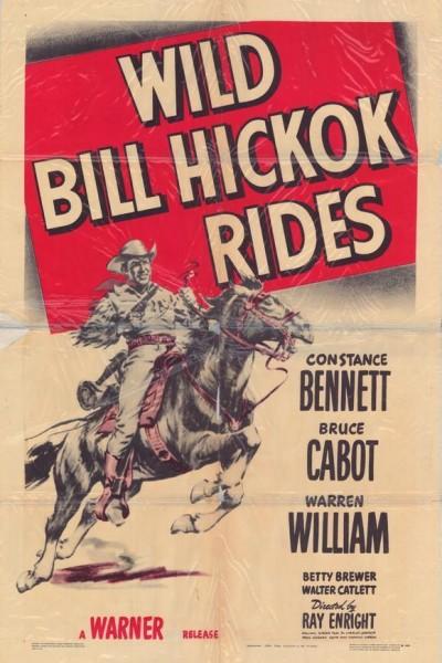 Caratula, cartel, poster o portada de Wild Bill Hickok Rides