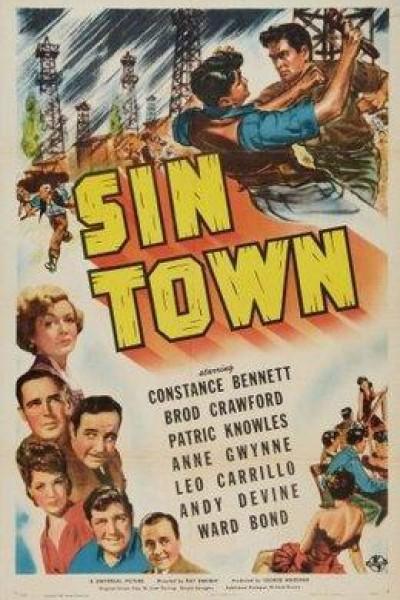 Caratula, cartel, poster o portada de Sin Town