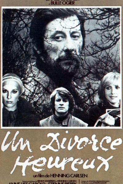 Caratula, cartel, poster o portada de Un divorce heureux