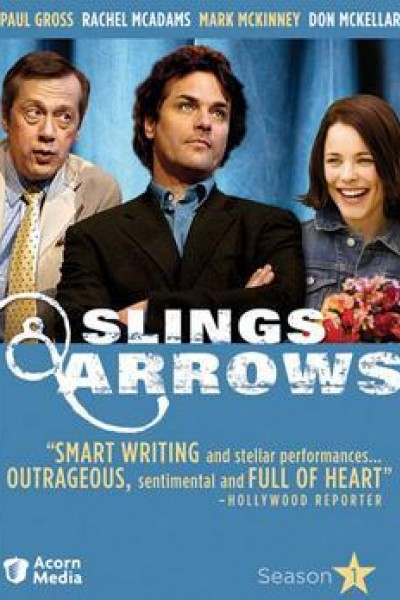 Caratula, cartel, poster o portada de Slings and Arrows
