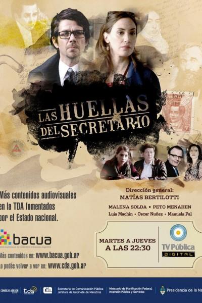 Caratula, cartel, poster o portada de Las huellas del secretario