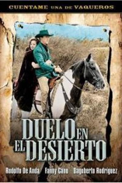 Caratula, cartel, poster o portada de Duelo en el desierto