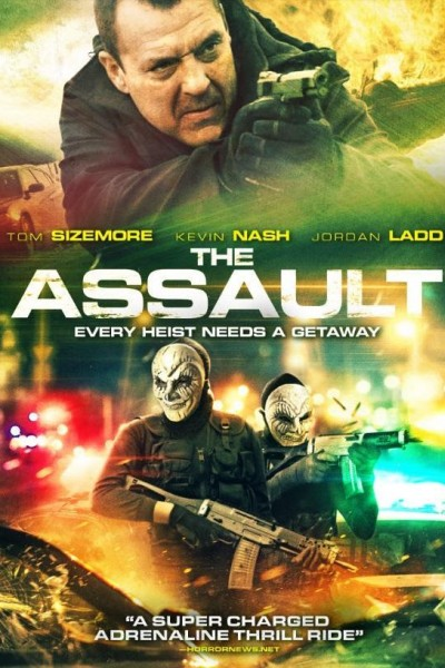 Caratula, cartel, poster o portada de The Assault