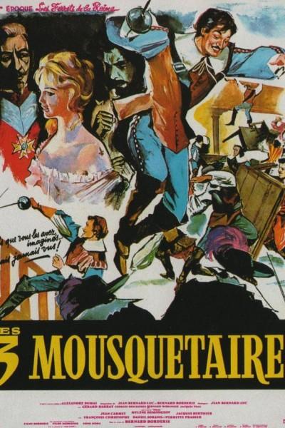 Caratula, cartel, poster o portada de Los 3 Mosqueteros