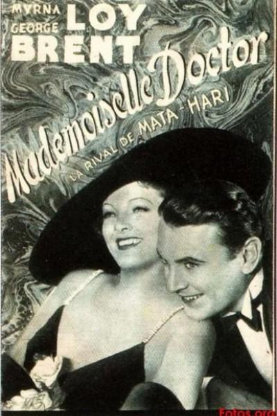 Caratula, cartel, poster o portada de Mademoiselle Doctor